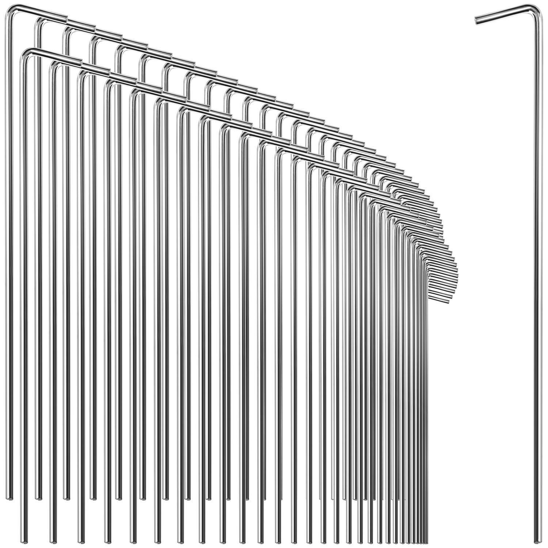 lange /& robuste Erdnägel für Camping und Outdoor Zelt-Heringe aus Stahl