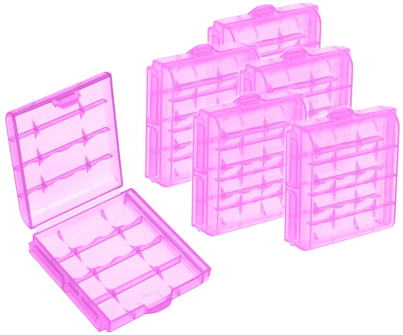 Batteriegehäuse Kunststoff Aufbewahrungsbox Batterie Box mit Fächer