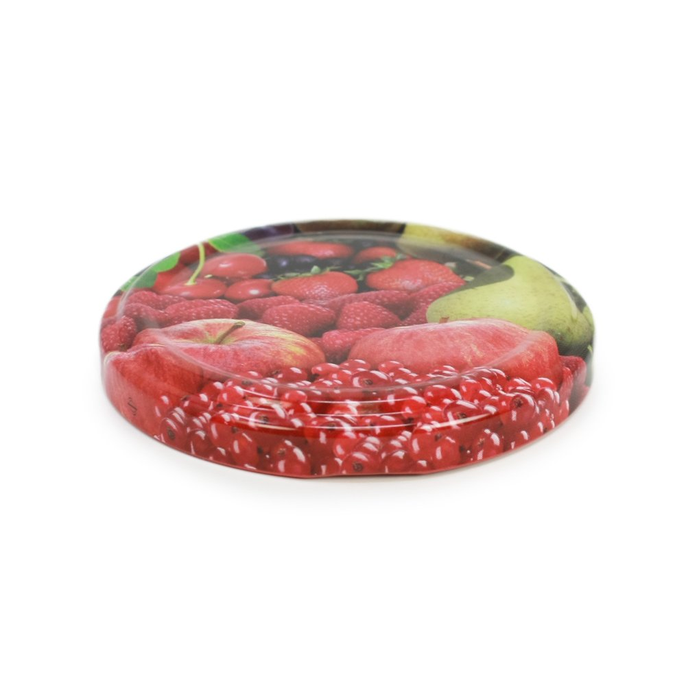 20x ersatzdeckel obst deckel f r sturzgl ser marmeladengl ser to 66 mm ebay. Black Bedroom Furniture Sets. Home Design Ideas