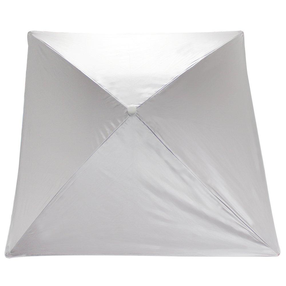 strandschirm mit uv schutz und windschutz sonnenschirm f r den strand in rot ebay. Black Bedroom Furniture Sets. Home Design Ideas