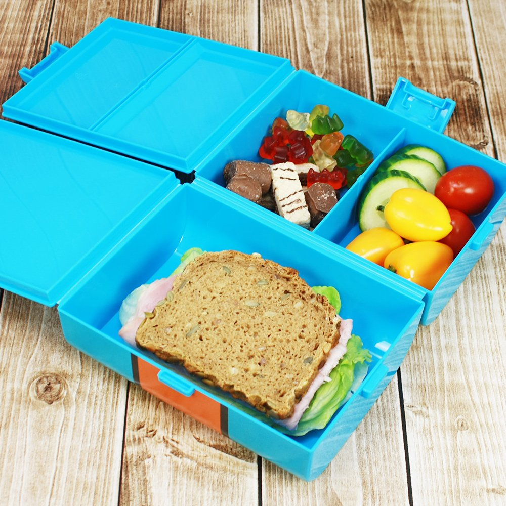 brotdose 74 f r unterwegs lunch box f r kinder mit. Black Bedroom Furniture Sets. Home Design Ideas