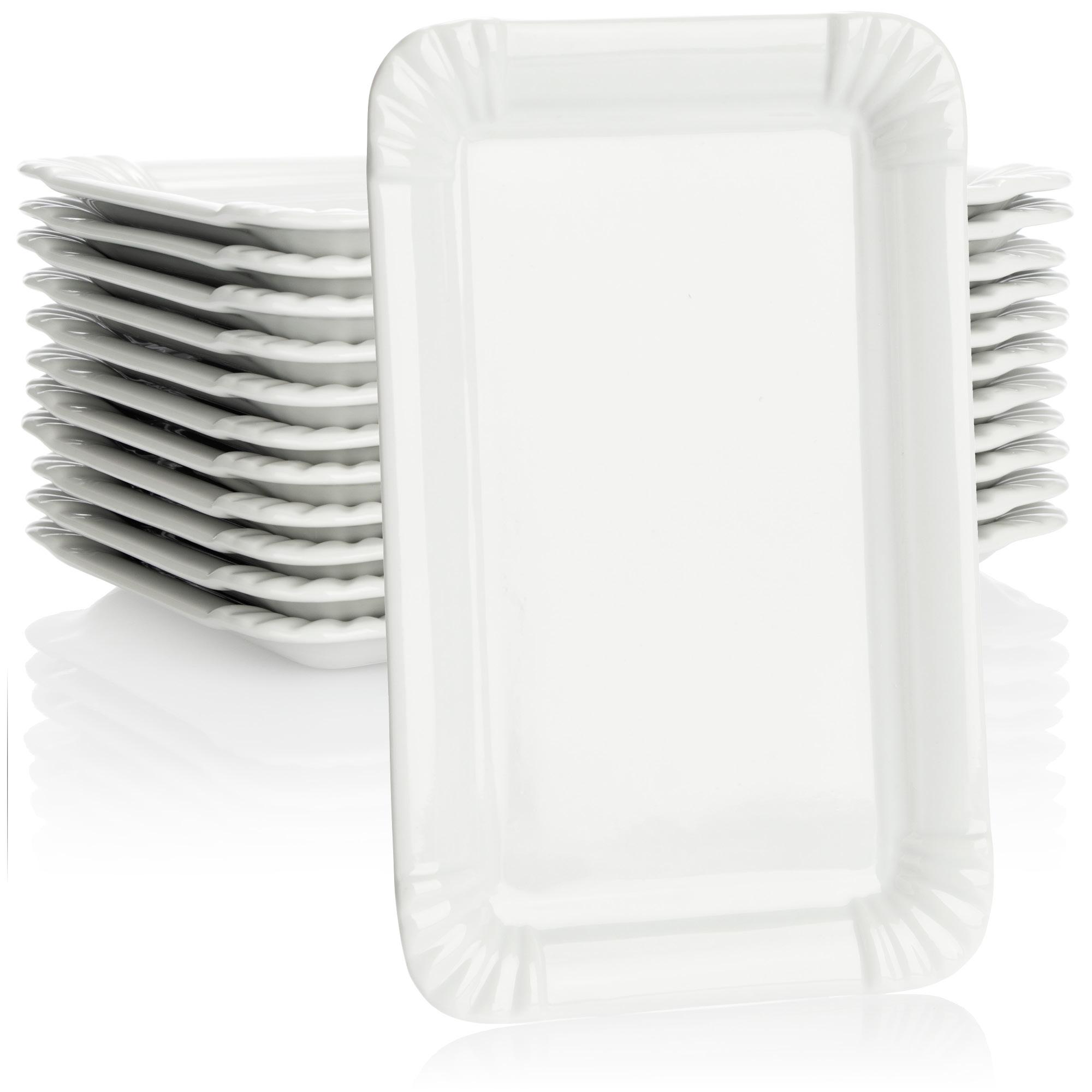 BergHOFF Hotel Line Suppenteller Suppenschüssel Teller Porzellan Weiß 21.5 cm